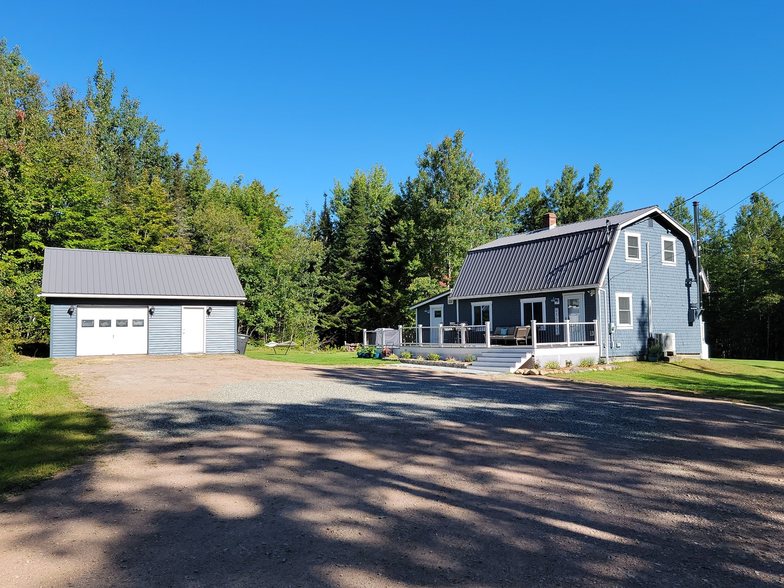 Newly updated home in Robbinston, Maine