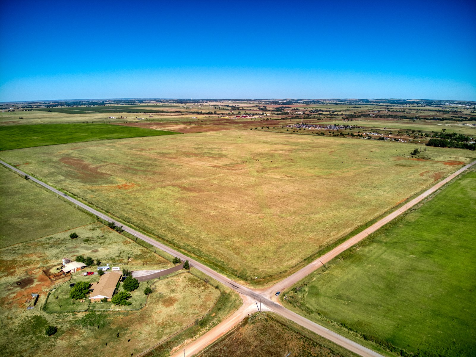 160 ACRES OF LAND FOR SALE ELK CITY, OKLAHOMA