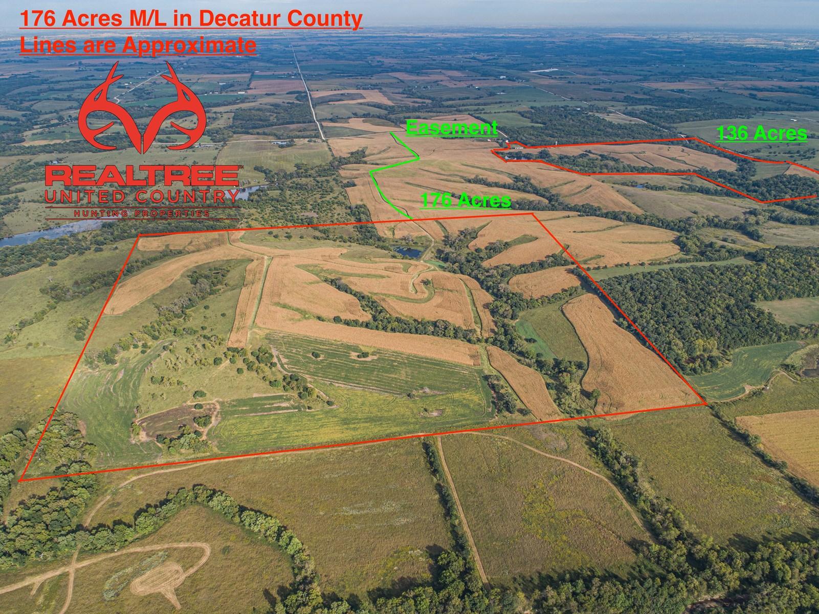 Southern Iowa Premium Hunting Farm !!