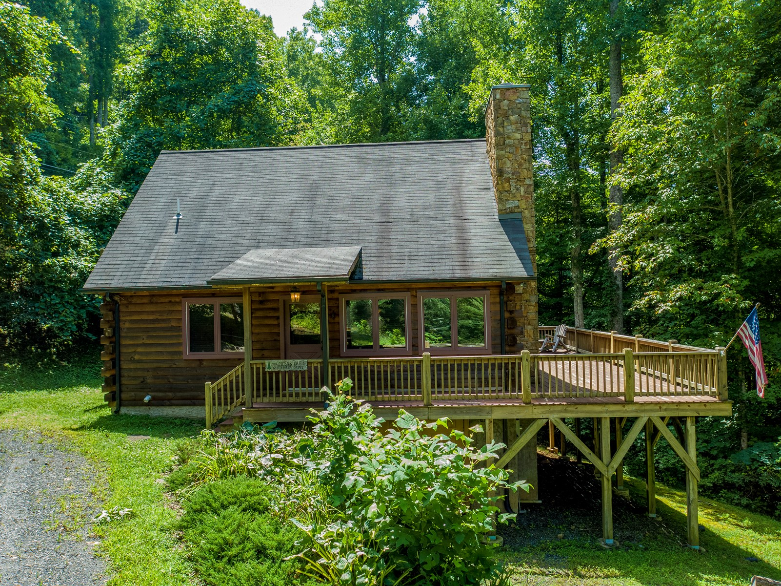 Mountain Cabin and Log Home for Sale Near Roan Mountain NC