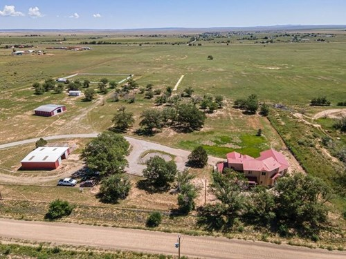 50± Acres with Home For Sale in Moriarty, New Mexico