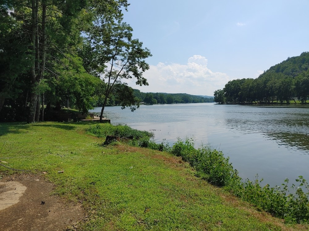 Beautiful Riverfront Property for Sale in Hiwassee VA!