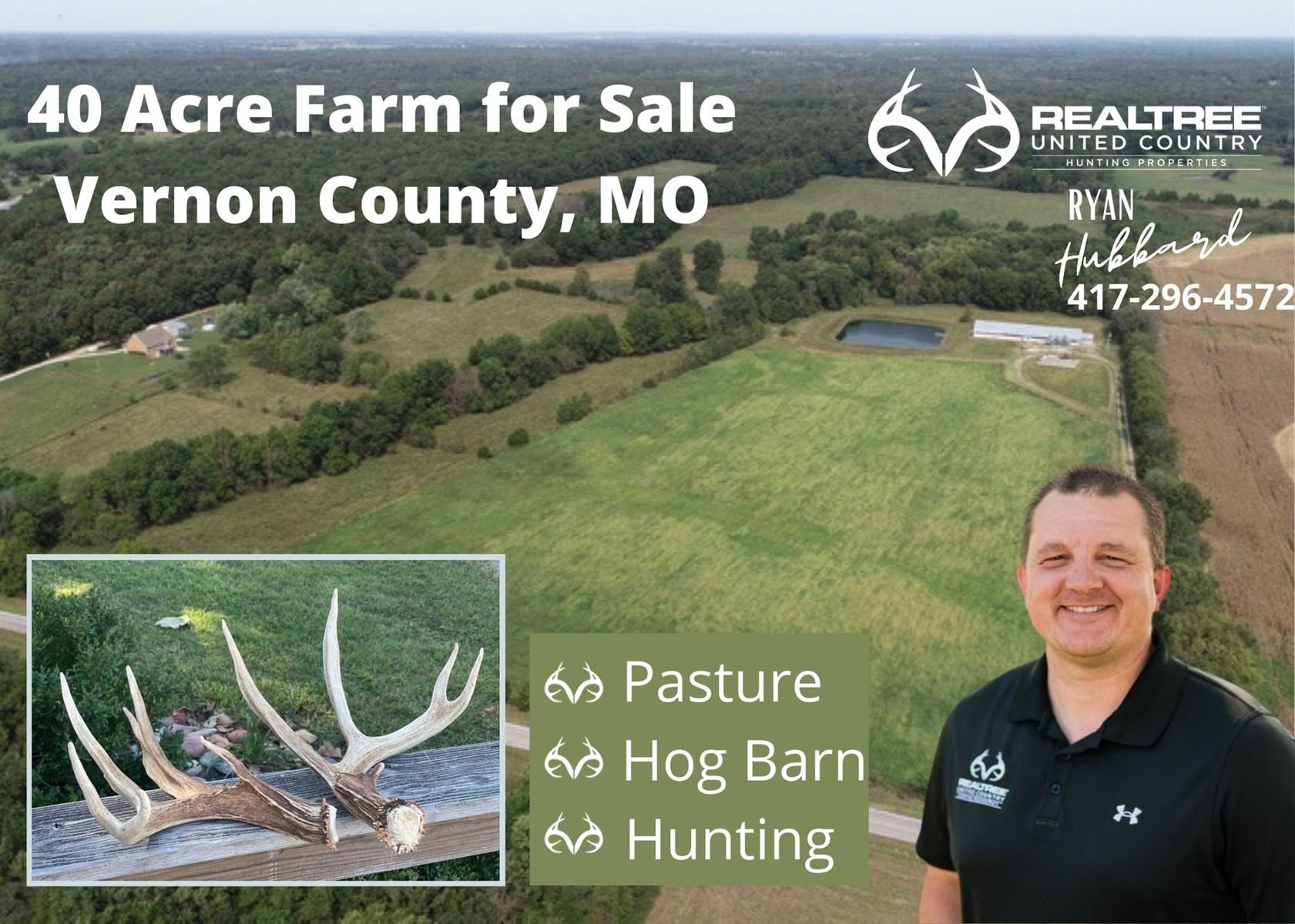 Farm For Sale in Vernon County Missouri