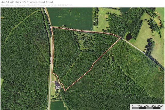 Investment & Recreational Tract In Southern VA