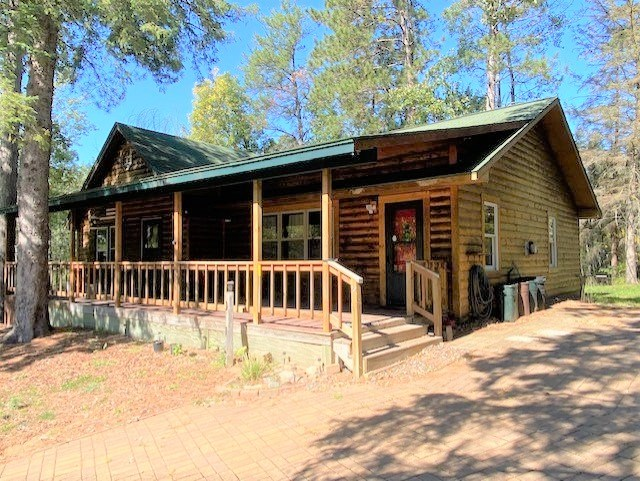 Log-Sided Home With River Frontage For Sale In Rutledge, MN