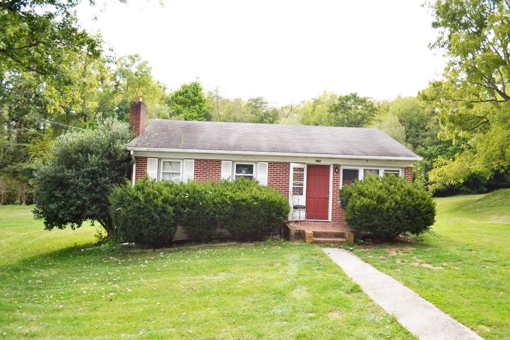 Brick home with water near downtown Wytheville, VA