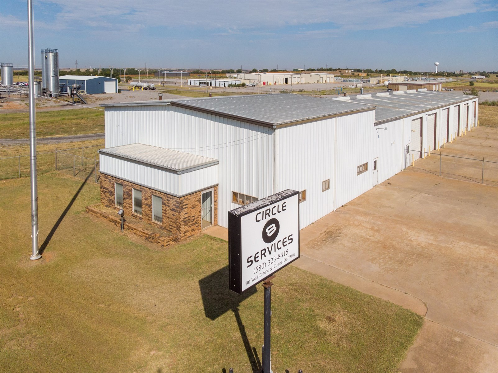 Industrial Property & Acreage For Sale in Clinton, OK