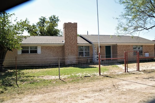 west Texas Country Home with Land near San Angelo & Mertzon