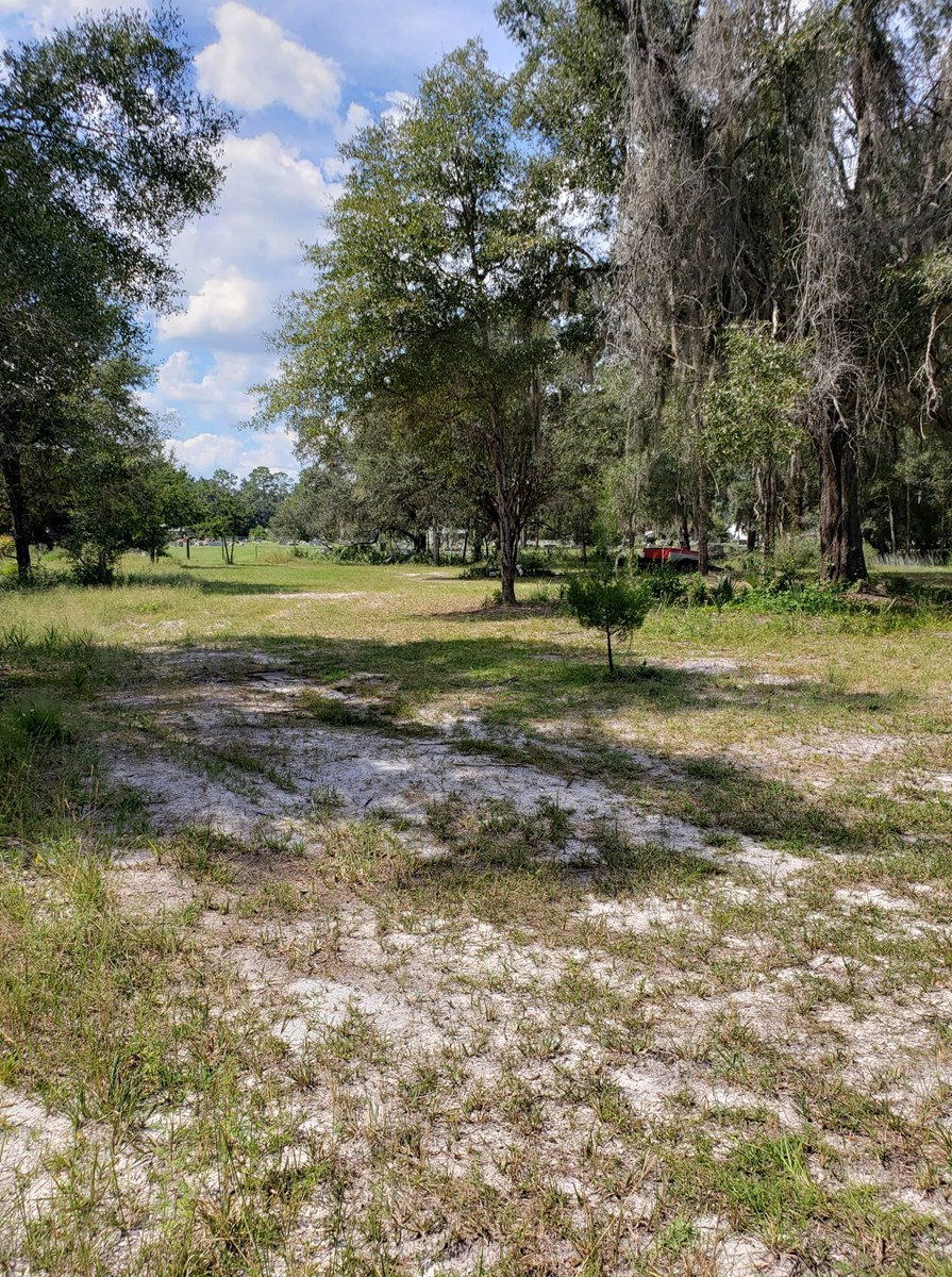 Nicely cleared 1.101 acre lot with utilities in city limits