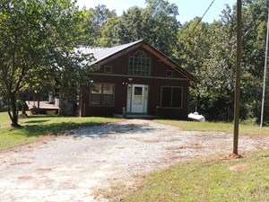 CABIN HOME WITH ACREAGE, CREEK, OFF GRID, SOLAR