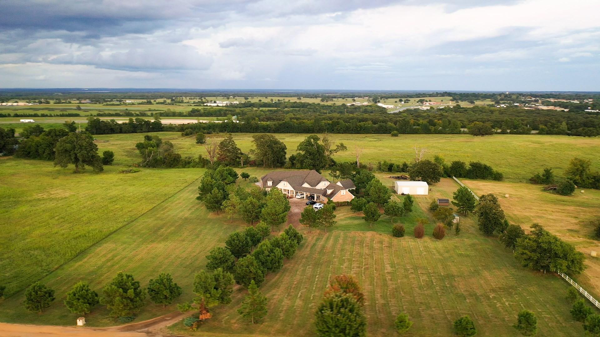 Country Home On Acreage For Sale Hugo Oklahoma