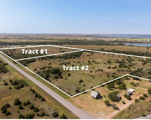 FOSS LAKE LAND FOR SALE CUSTER COUNTY, OK - TRACT #1