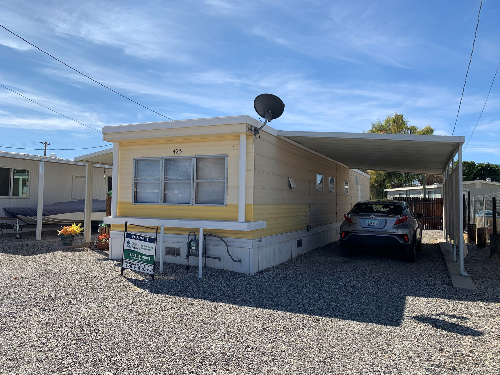 Two Bedroom Mobile Home With River Access in Parker, AZ