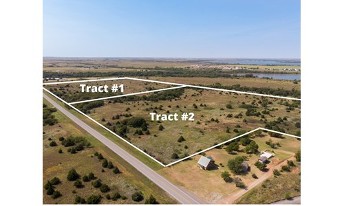Foss Lake Land for Sale Custer County, OK - Tract #2