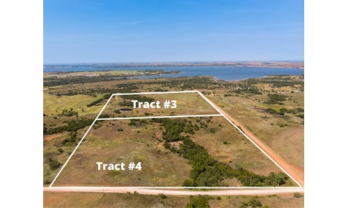 Foss Lake Land for Sale Custer County, OK - Tract #3