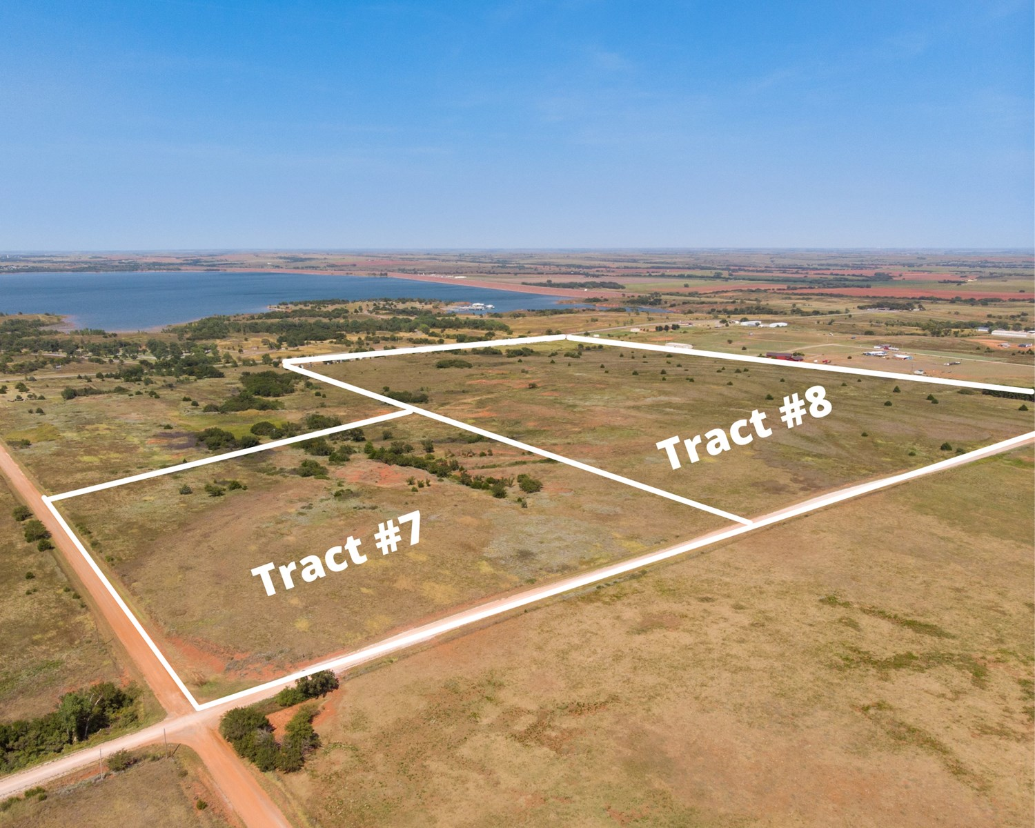 Foss Lake Land for Sale Custer County, OK - Tract #7
