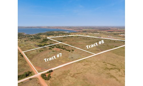 Foss Lake Land for Sale Custer County, OK - Tract #8