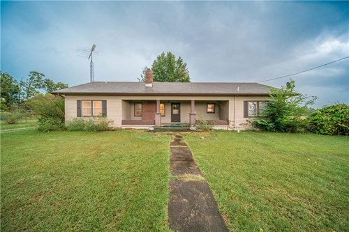 Home and 40 Acres in Gravette, Arkansas