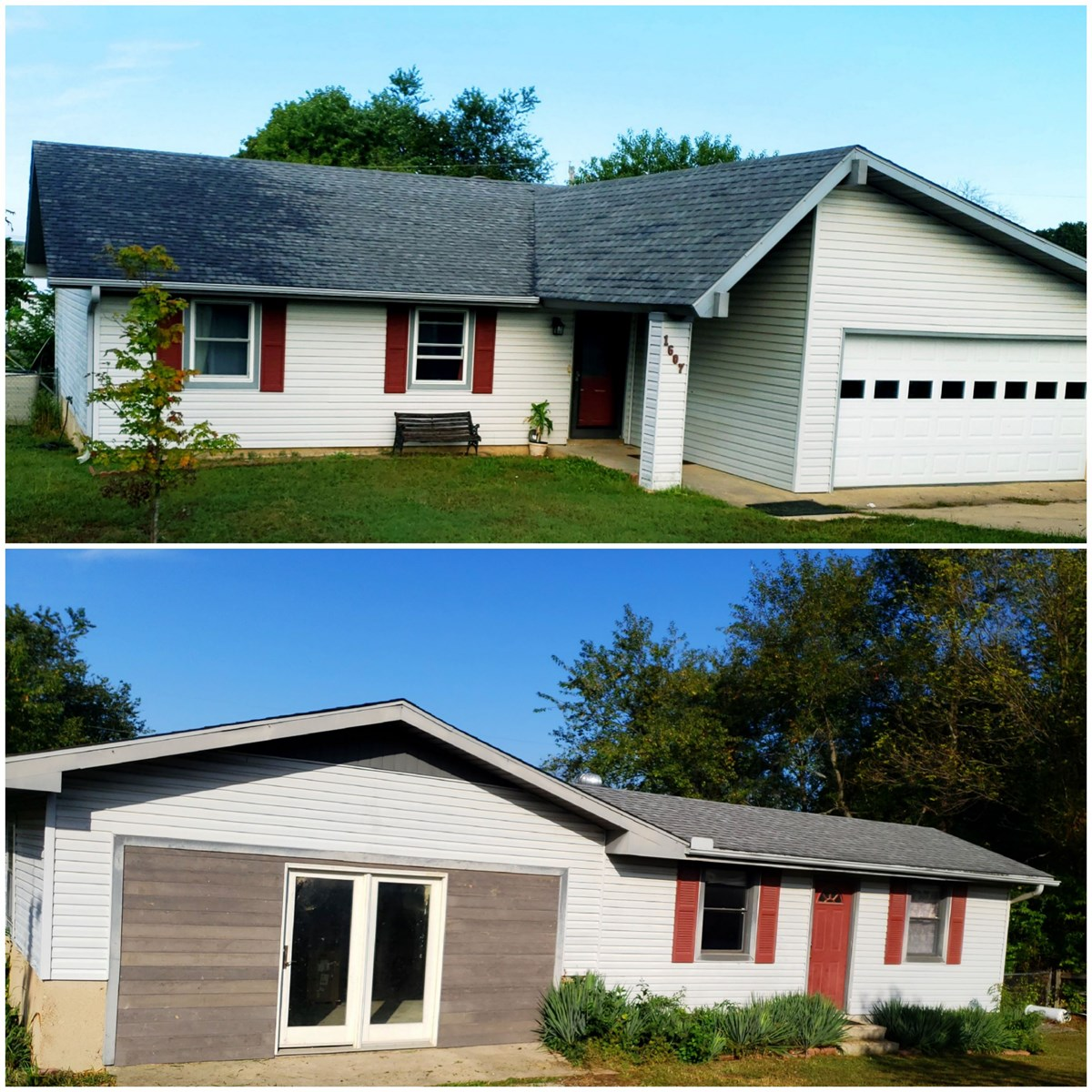 Home For Sale On Two City Lots, West Plains, Missouri