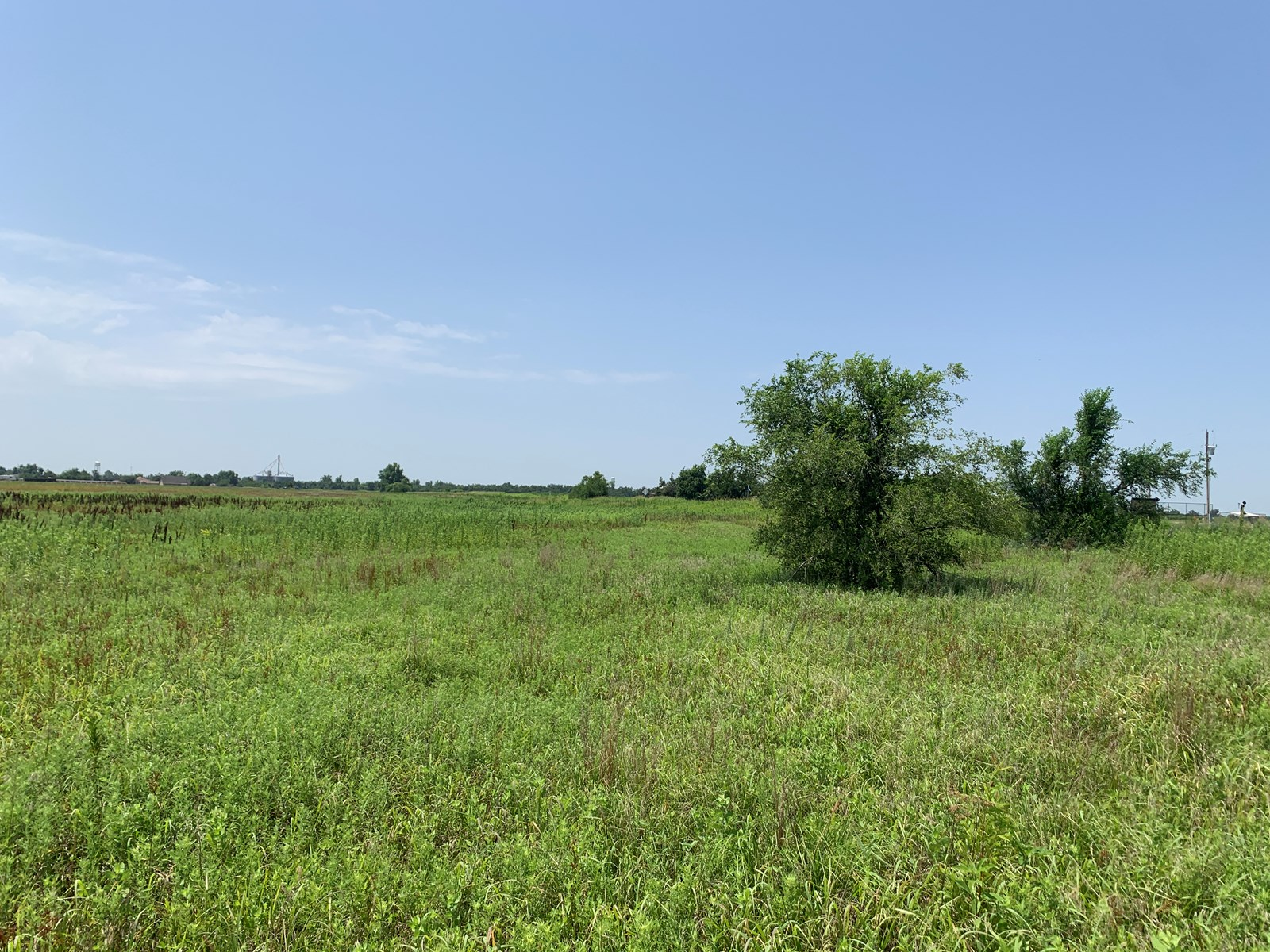 Crescent, OK - 34.5 Acres with Highway 74 Frontage