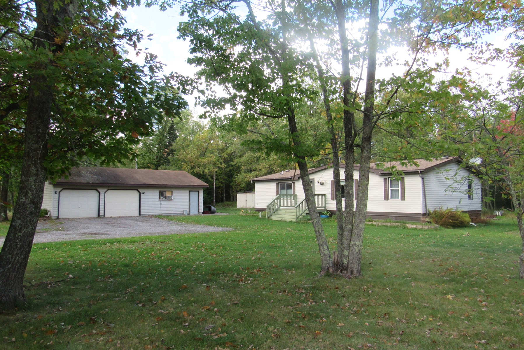 Private Country Home on 5 Acres for sale in Pine County MN