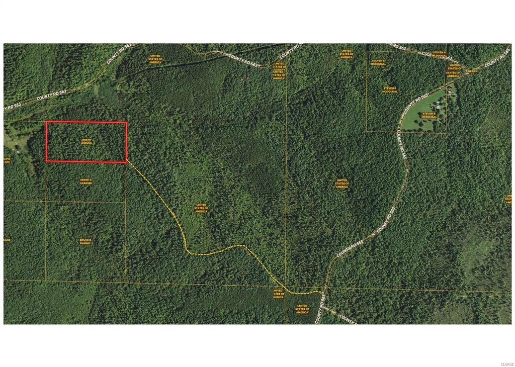 20 Acres bordering National Forest.