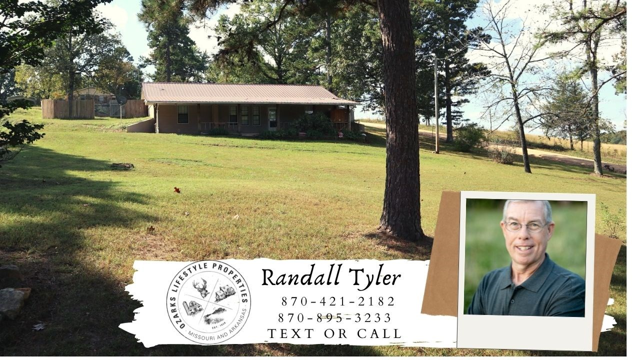 Country Home with shop for sale Oxford Arkansas
