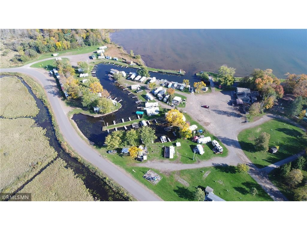 Campground Resort for Sale on Mille Lacs Lake Front Property