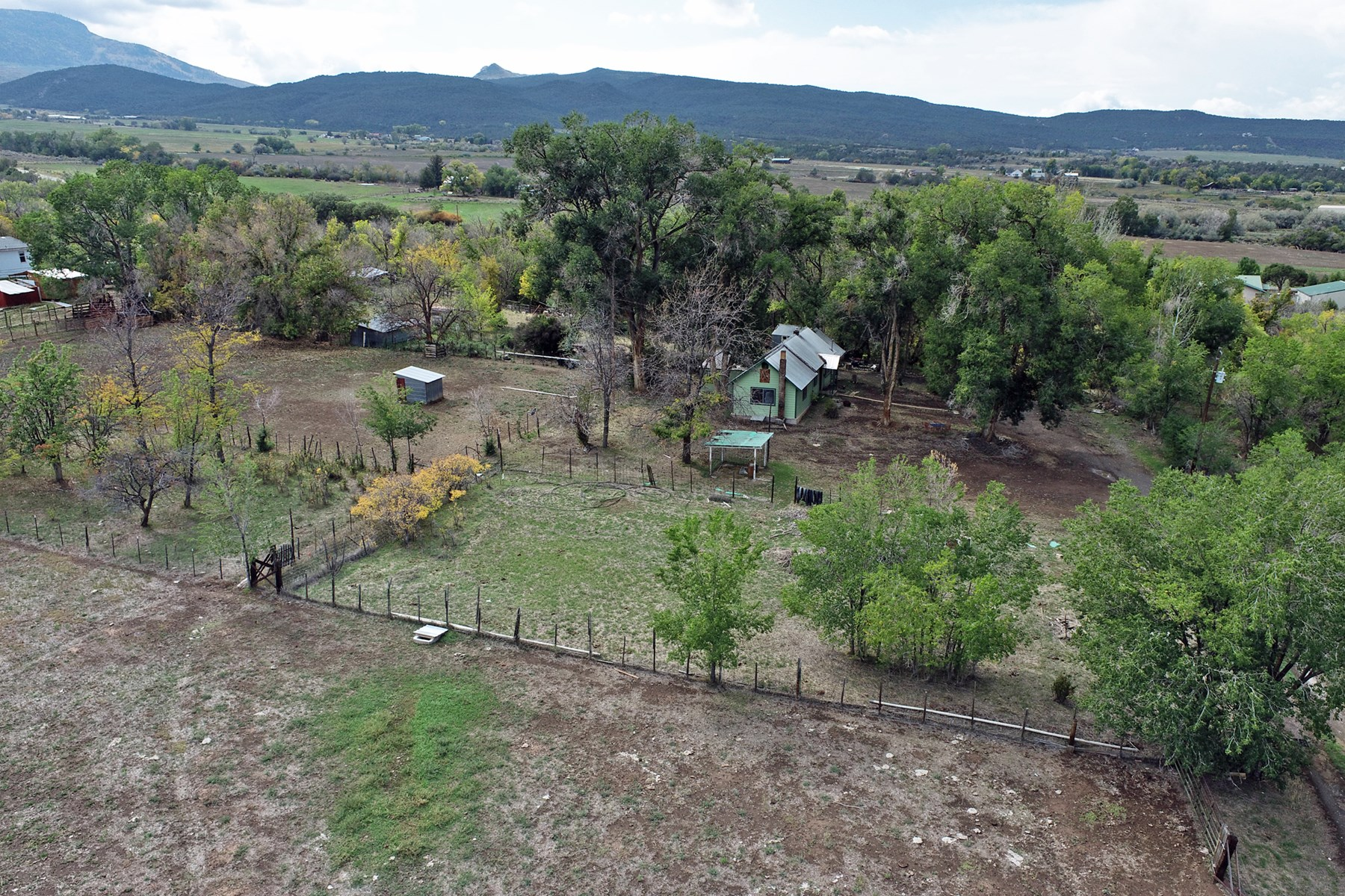 Country Home with Acreage and Creek Near Ski Resort in CO