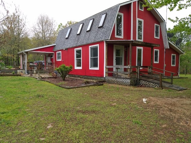 20 acres and country home for sale in Laclede Country