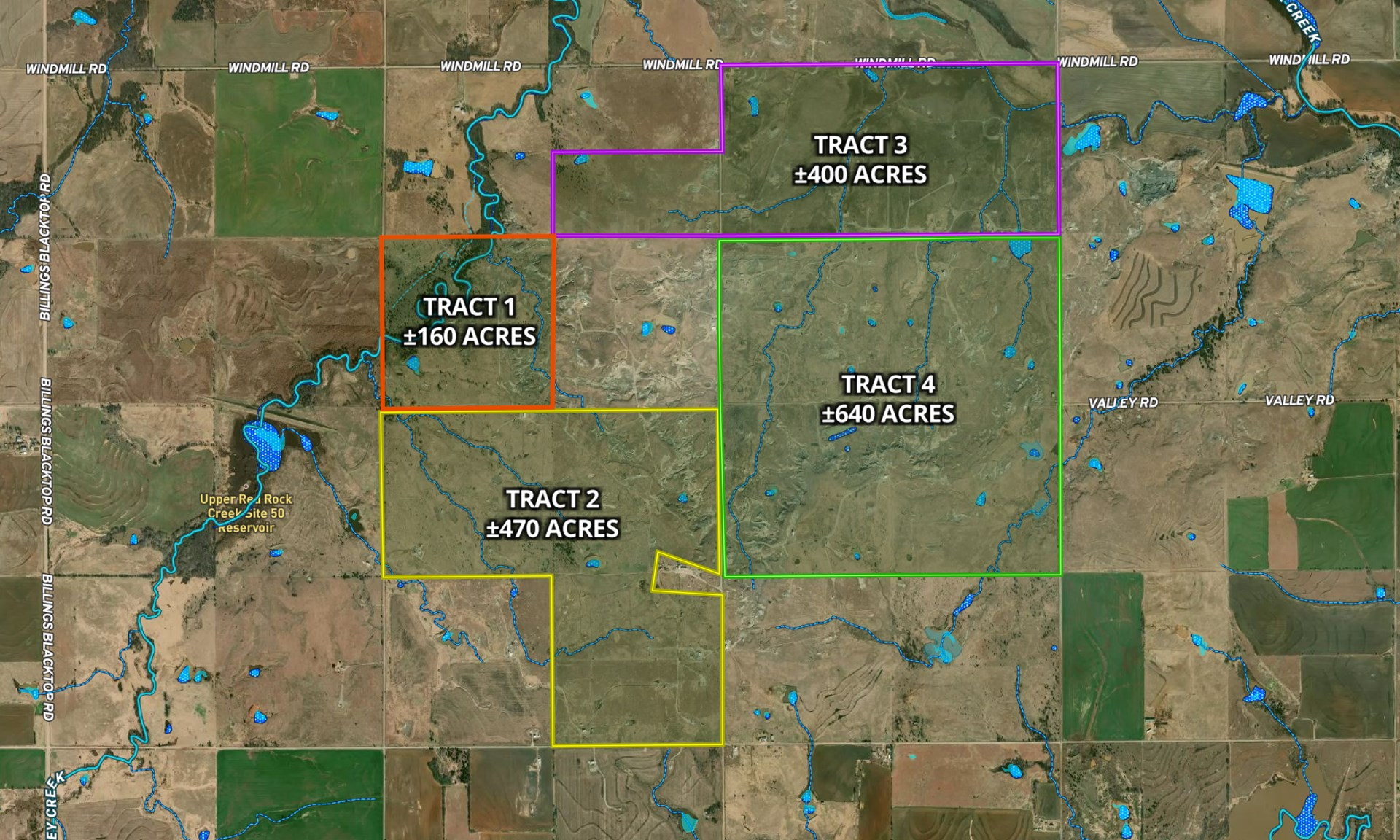 ±640 Acres, Noble County Hunting & Ranch Land for Sale