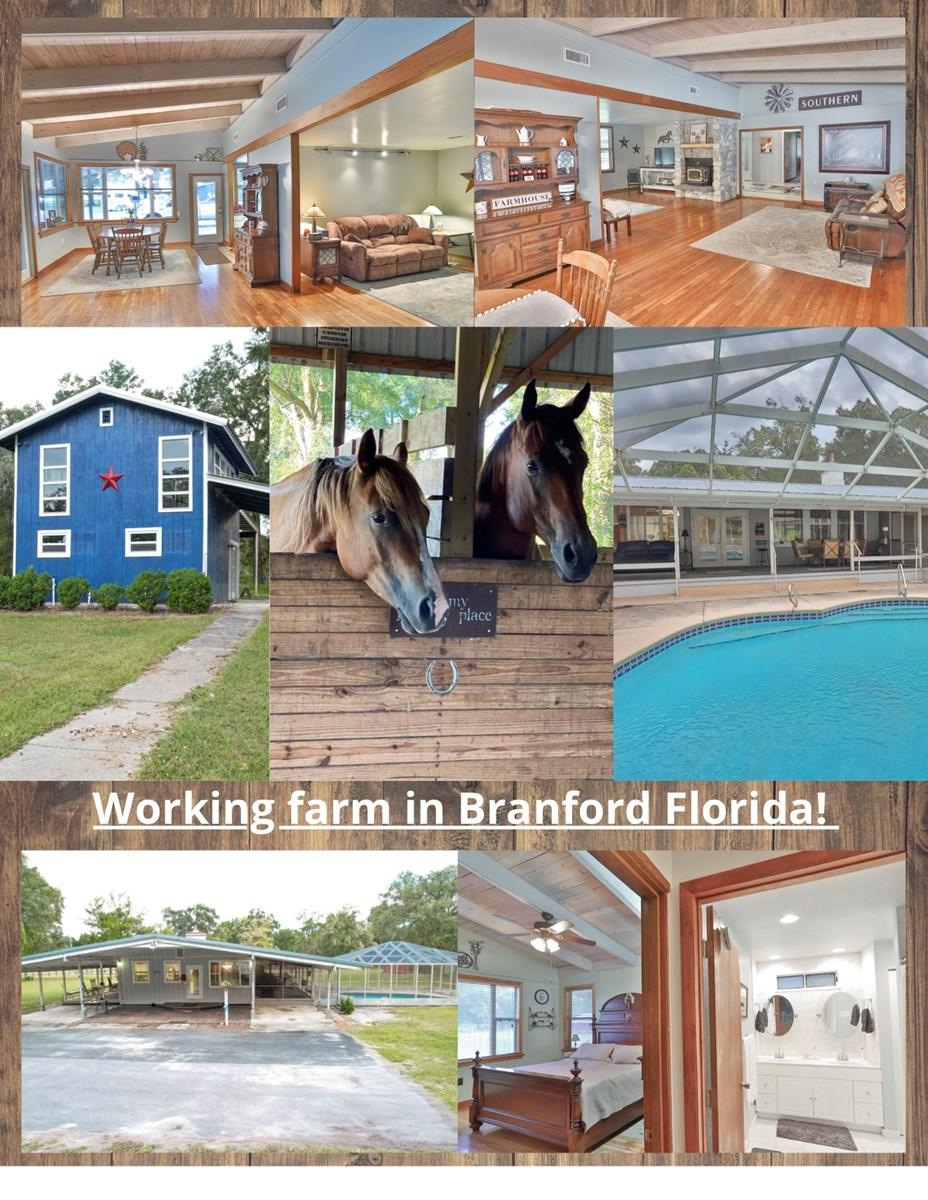 Beautiful farmhouse in Branford Florida!