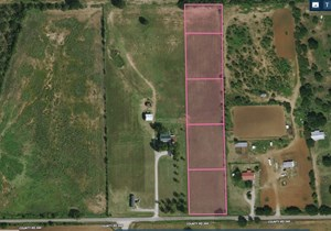 BEAUTIFUL, QUIET, 4.5 ACRE LOT IN THE COUNTY!