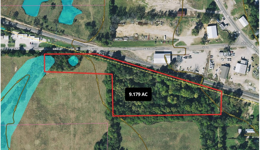 Commercial Land Real Estate Auction Winnsboro Texas