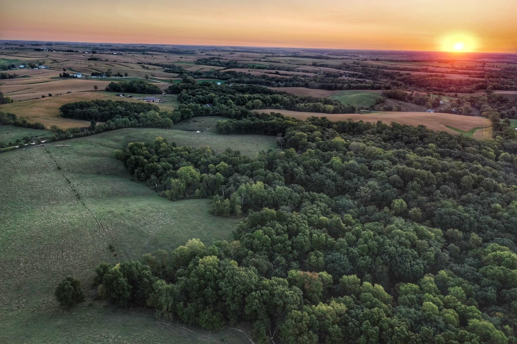 Jackson County, Iowa Hunting & Recreational Land For Sale