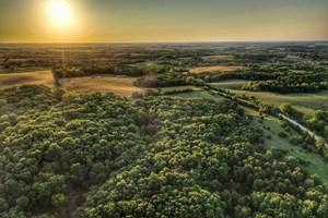JACKSON COUNTY, IOWA HUNTING LAND W/POTENTIAL CROP INCOME