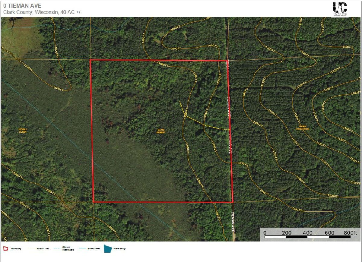 """This 40 acre tract is the """"Northwoods Dream""""!"""