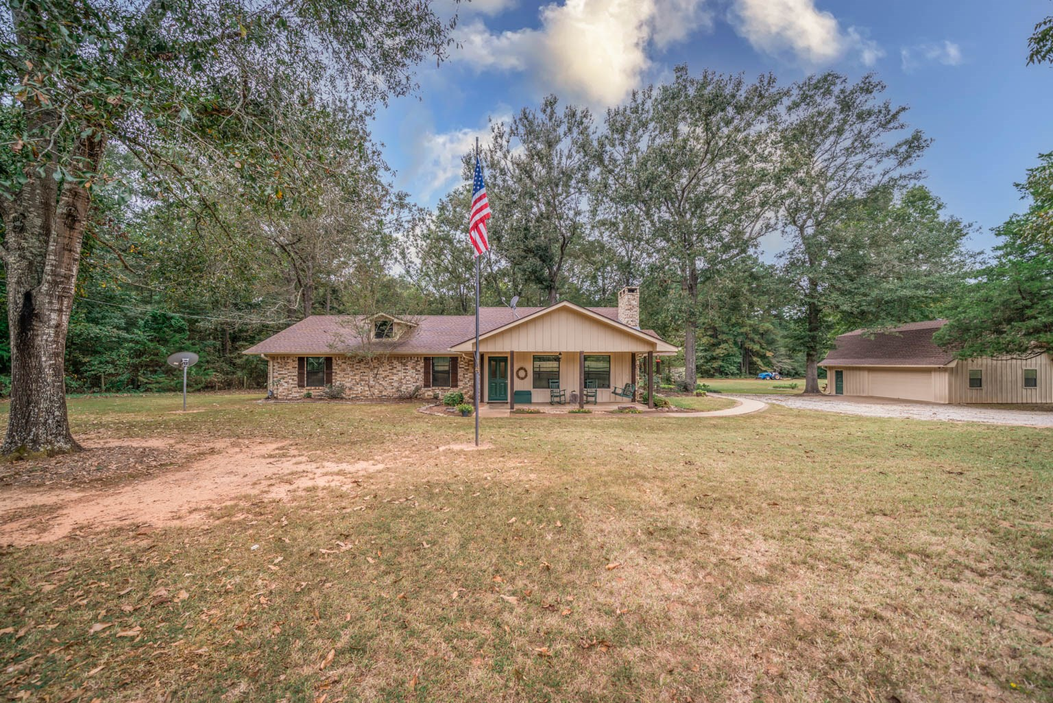Adorable Country Home on 25 beautiful acres with pond