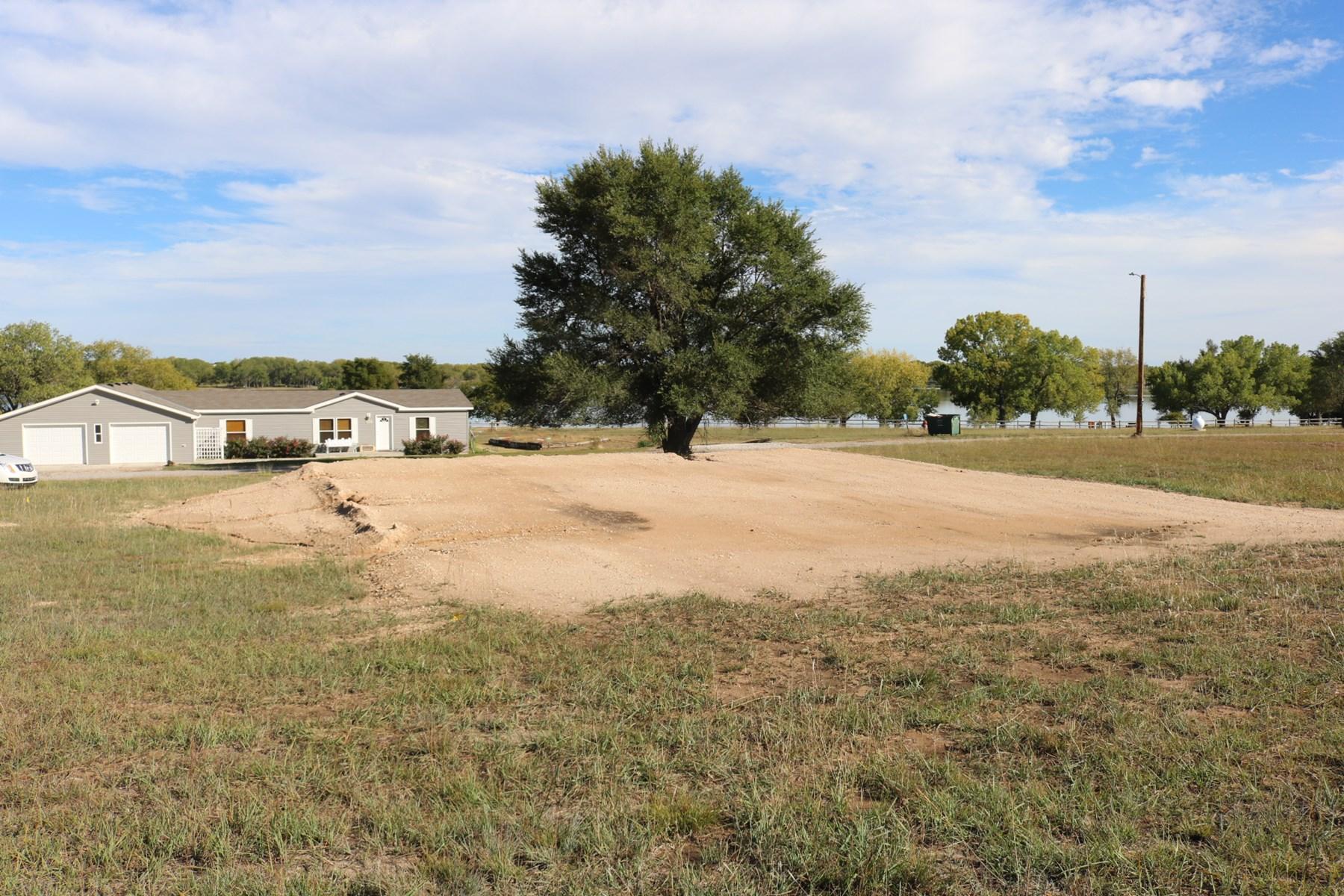 Lake Lot for Sale Lake Coldwater, Kansas