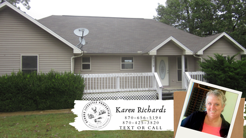 Beautiful Lake Side Home For Sale in Oakland, AR