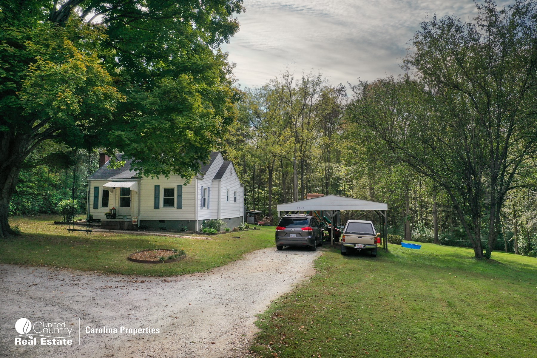 Country Home on Two Acres in West Rowan County NC