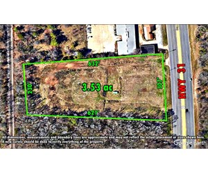 3.5 ACRES OF GREAT LAND FRONTING HIGHWAY 31