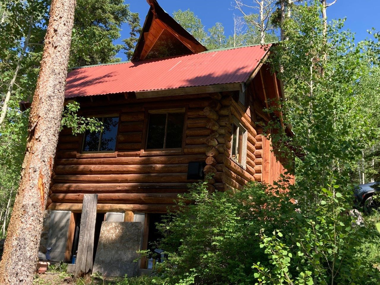 Mountain Cabin For Sale, Placerville, Colorado