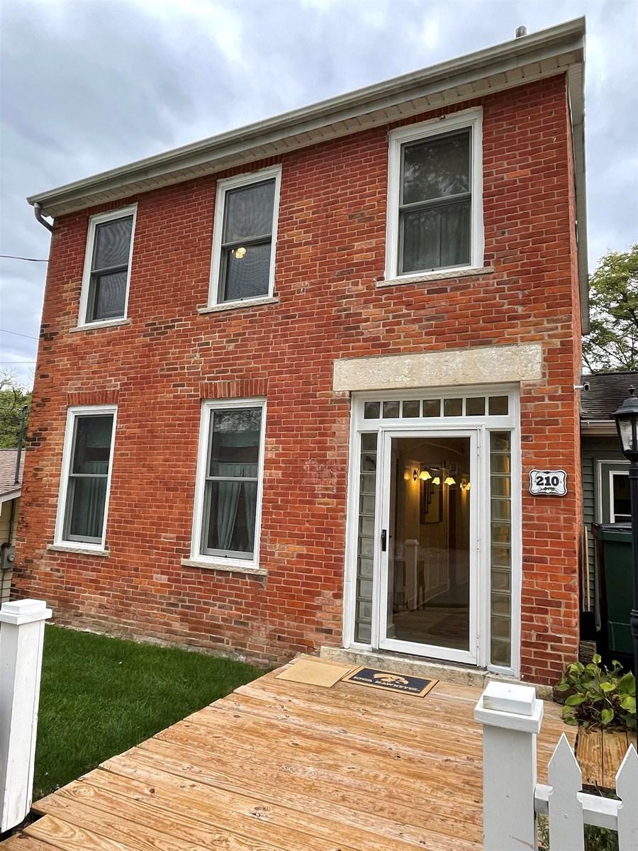Historic Brick Home in Galena for Sale