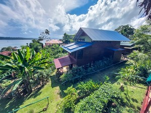TITLED HOME WITH RENTAL HOUSE, ISLA BASTIMENTOS