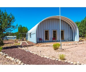 Quonset Hut Home with Garage for Sale, No HOA