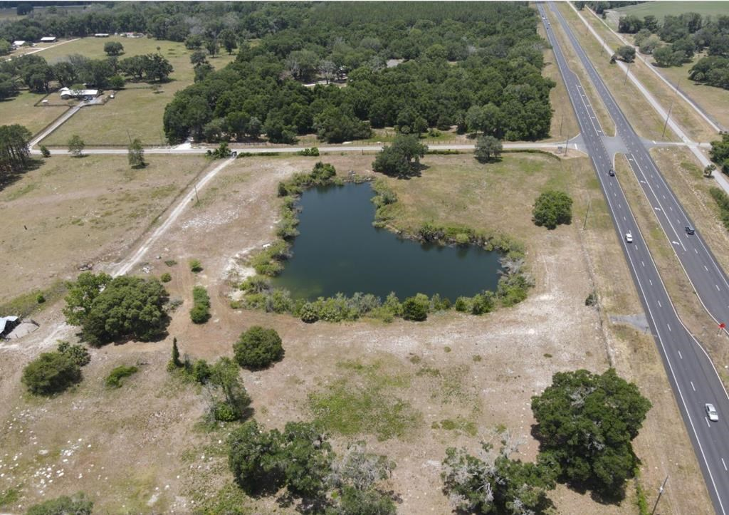 17 Acres Fully Fenced Property with Nice Limerock Pit Pond