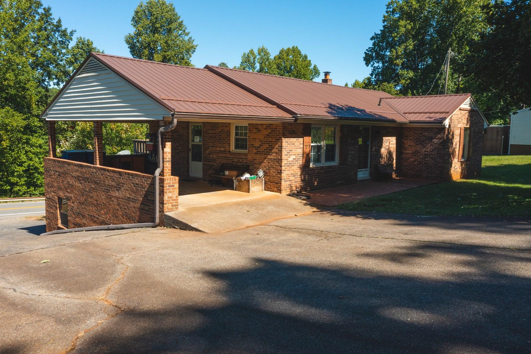 Stunning Brick Ranch Home for Sale in Stuart VA!