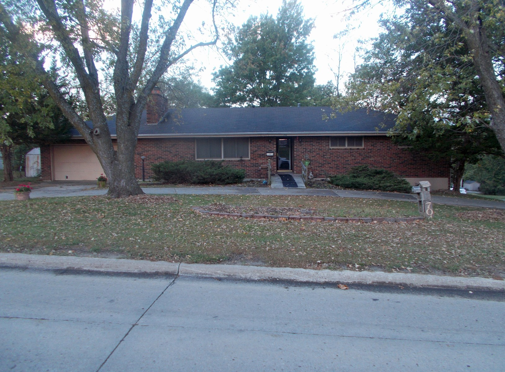 Brick Ranch Home For Sale in Albany MO