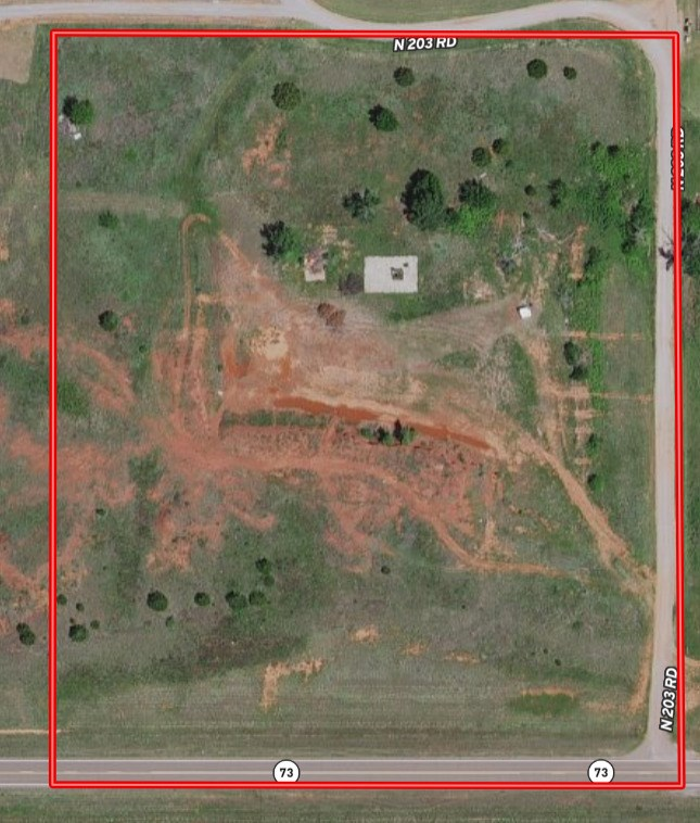 10.60 Rural  Acres for Sale in  Clinton, OK 73601
